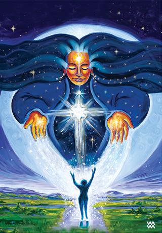 Pleiadean Star Goddess: Mythical Goddess Tarot