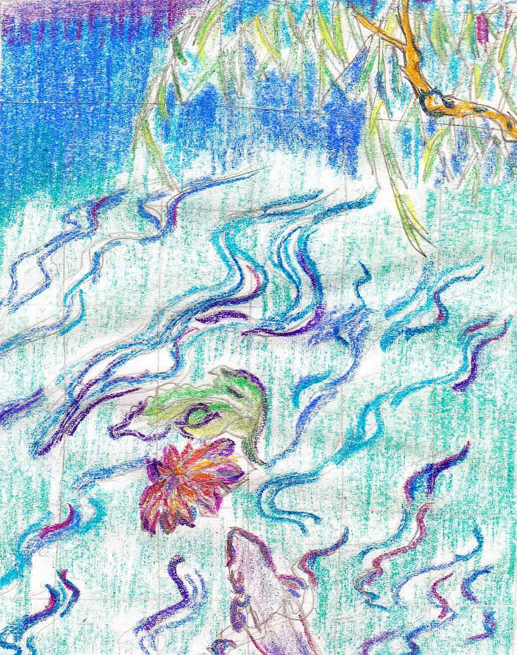 "My ""Floating World"" Tarot Project | celestial tree"