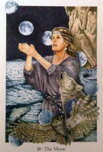 Gaian Tarot: The Moon