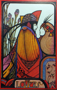 Aquarian Tarot: The Lovers