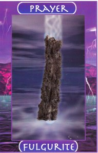 Fulgurite/Prayer by Naisha Ahsian