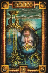 King of Cups reversed