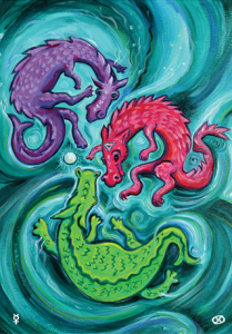 3 of Seas/Compassion