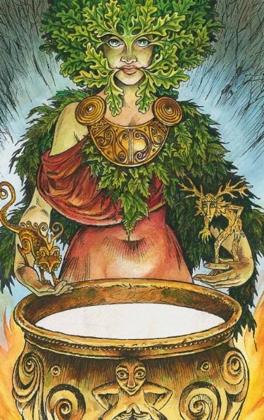 Wildwood Tarot: The Greenwoman