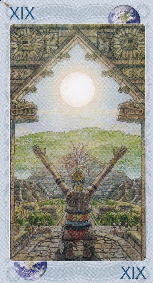 Sacred Sites Tarot: Teotihuacan/The Sun