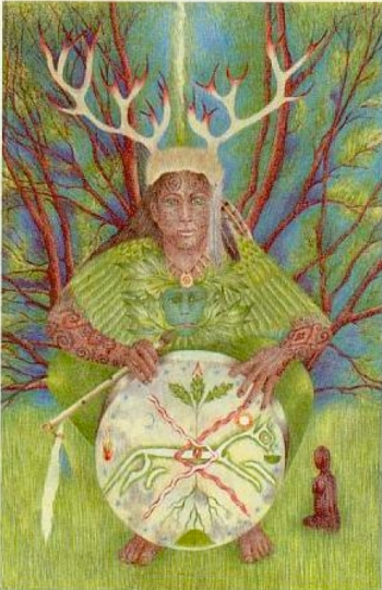 Greenwood Tarot: The Storyteller