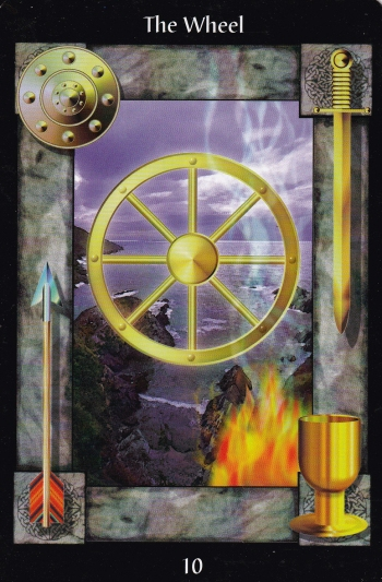 Sacred Circle Tarot: The Wheel